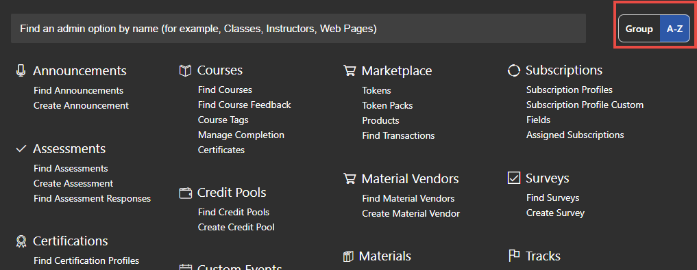 admin-menu - DocViewer